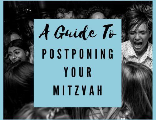 How To Postpone Your Mitzvah